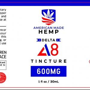 American Made Hemp Delta 8 Tincture